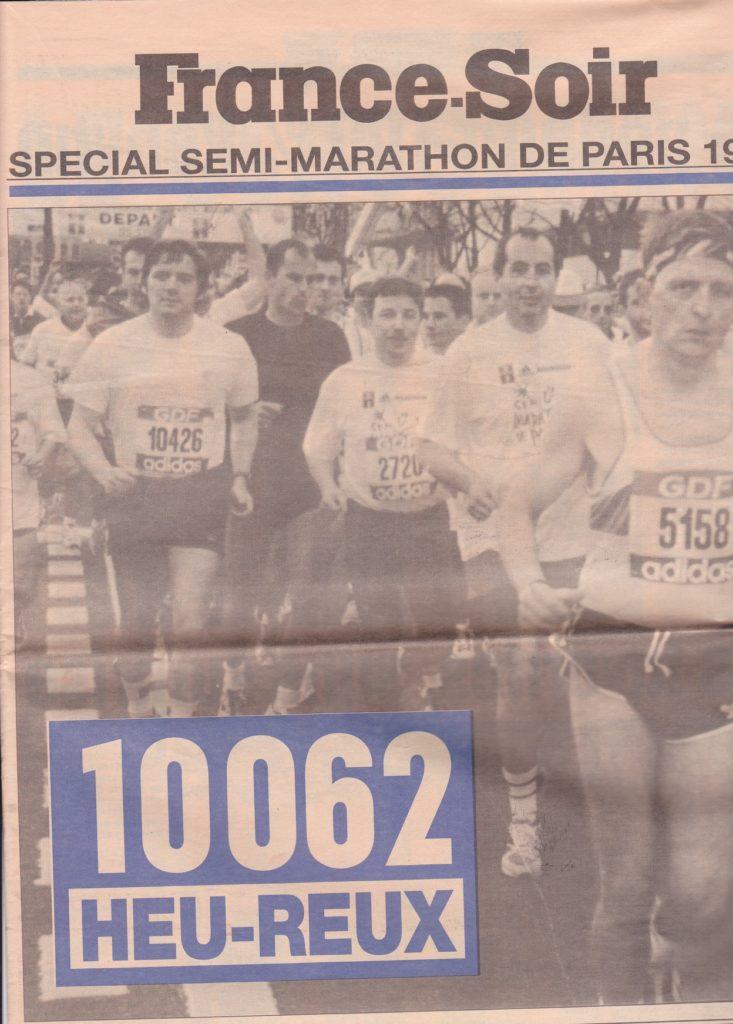 Half-marathon of Paris 1998 Results - Page 1