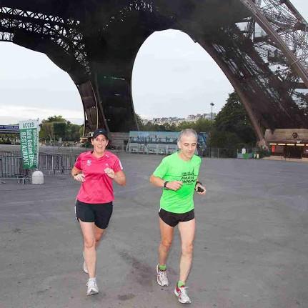 Depuis Palais-Royal en passant par la tour Eiffel avec Julie