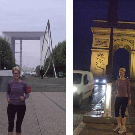 De la Grande Arche à l'Arc de Triomphe (et retour)