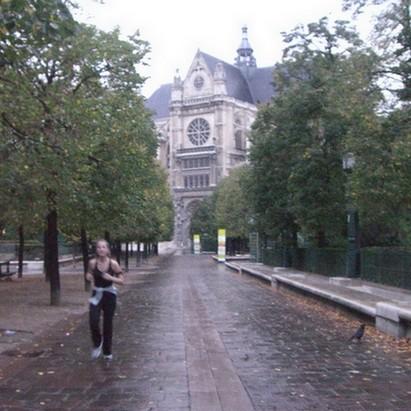 En vitesse le long de la Seine et en passant par les Halles