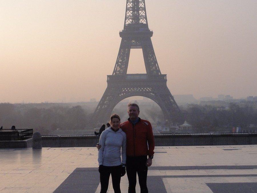 Un week end ensoleillé à Paris avec Anne et Niels