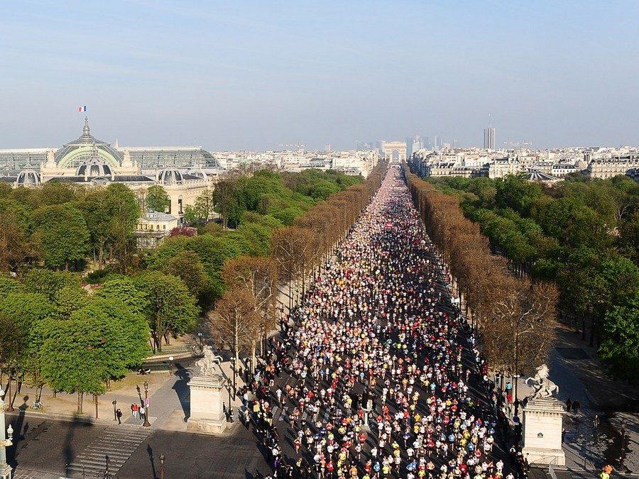 Nouvelles des compétitions à Paris : Le marathon de Paris !