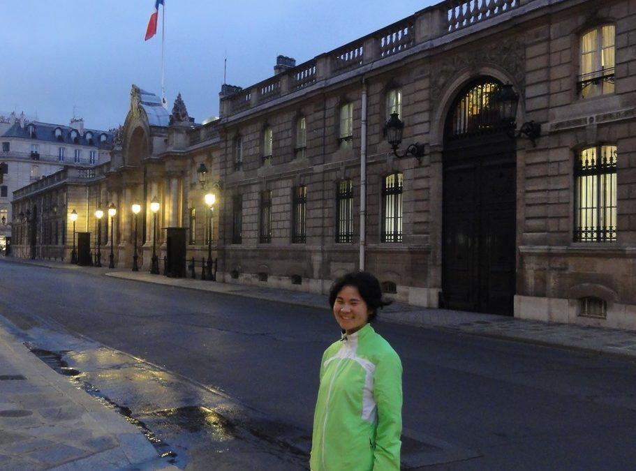 Du haut de Montmartre aux Tuileries avec Ai