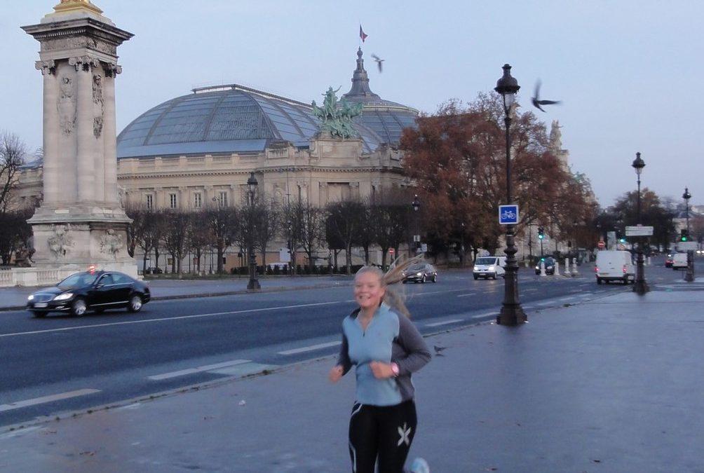 Découverte de l'histoire de Paris en courant avec Felicity