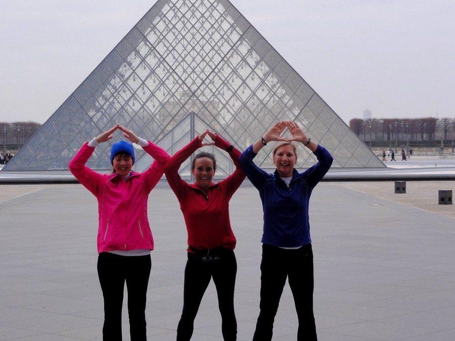 Paris ancien, Paris moderne avec Beth, Paige et Pamela
