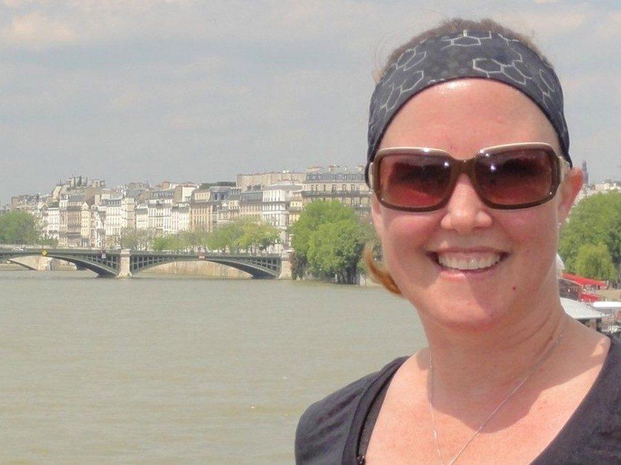Instantanés d'une première visite à Paris, avec Melinda