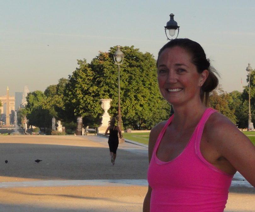 Quelques beaux endroits pour courir à Paris. Avec Hayley.