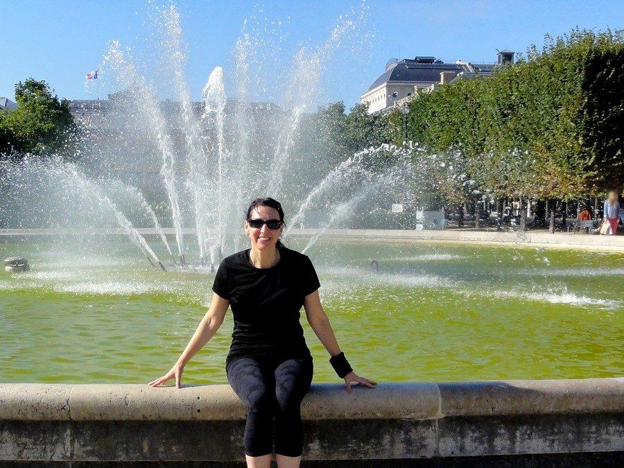 Place des Victoires avec Kristine