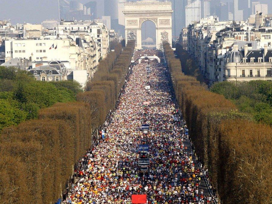 Les compétitions de course à pied à Paris en 2015 !