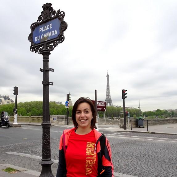 Un Paris Running Tour sous le signe du Canada, avec Fanny de Coureurs Montréal