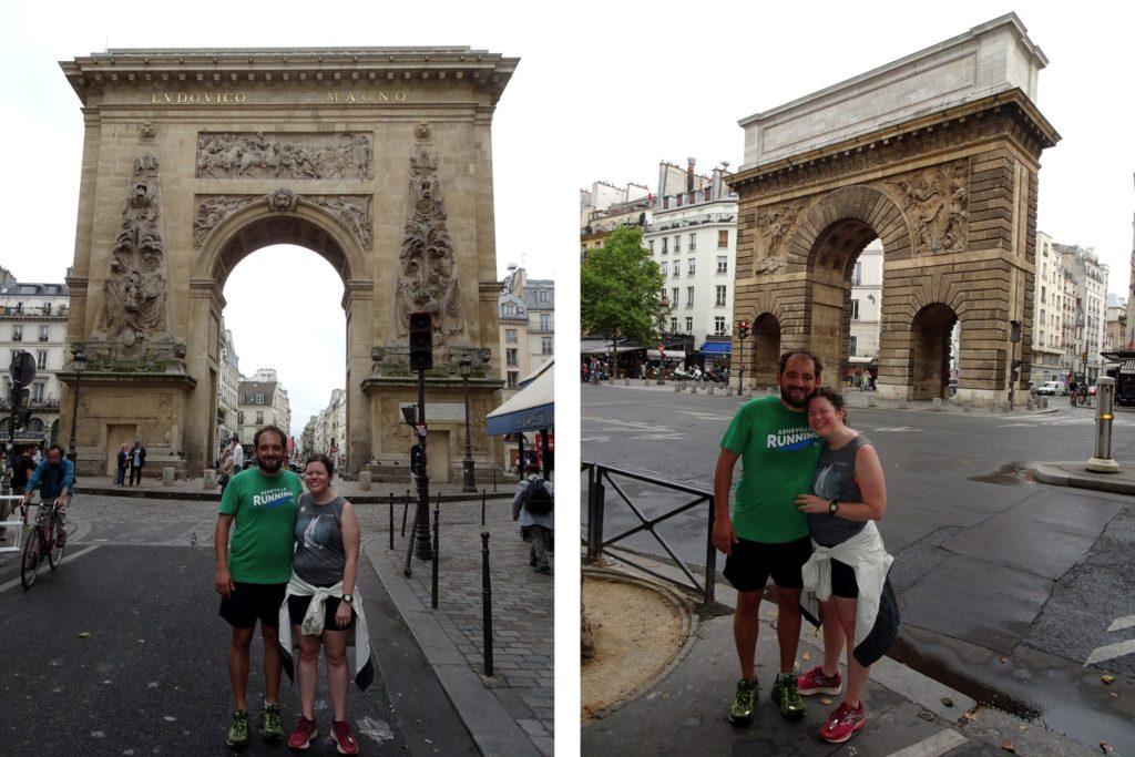 Porte Saint-Martin et Porte Saint-Denis
