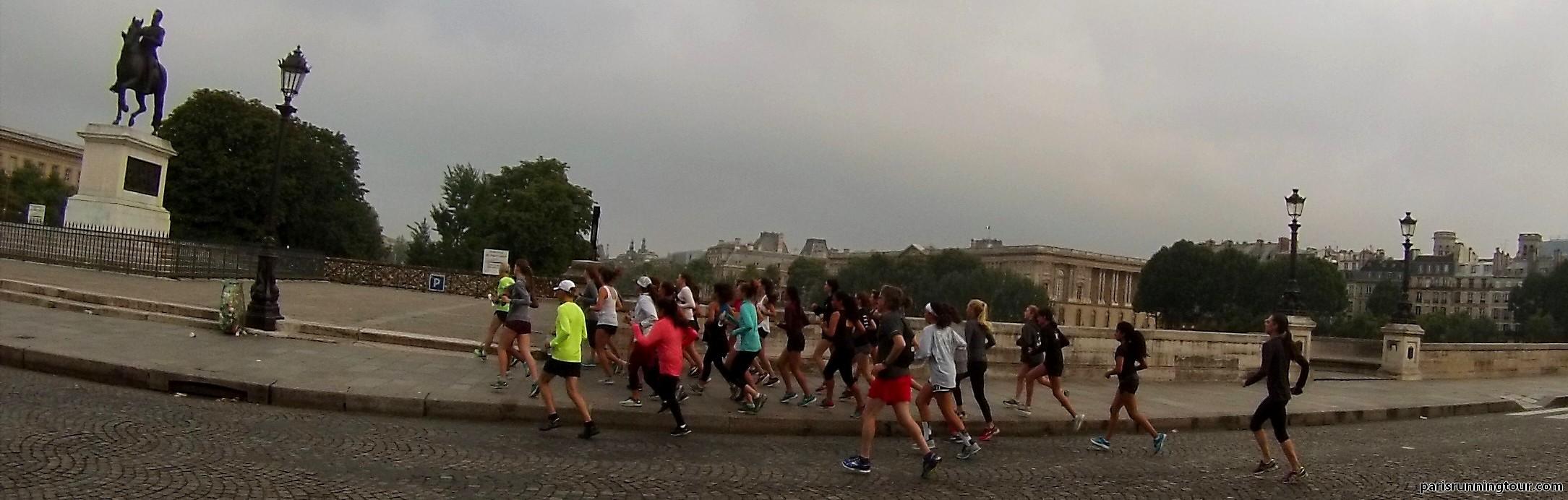Courir au Pont Neuf