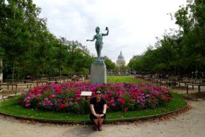 L'acteur Grec (Jardin du Luxembourg)
