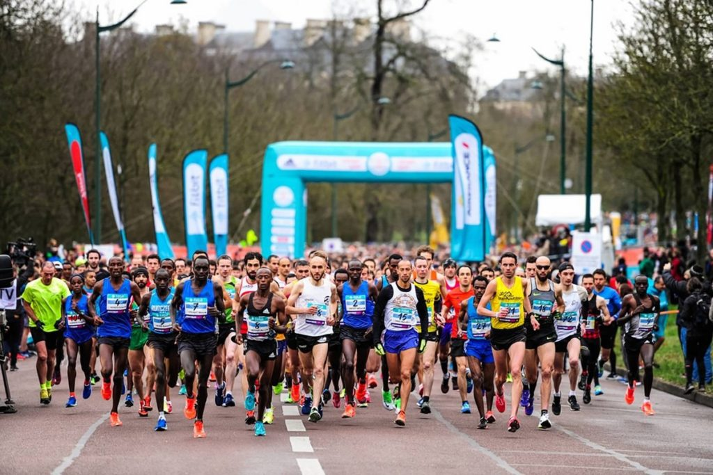 Paris Half Marathon 2017 start
