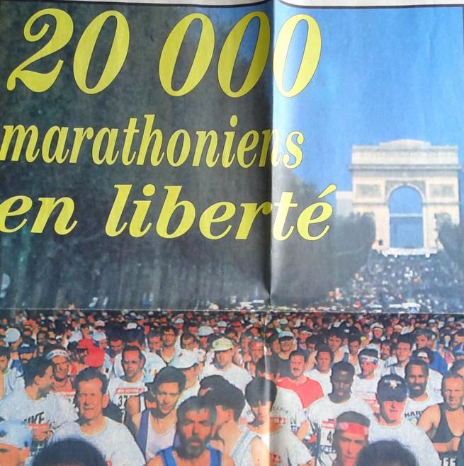 Marathon de Paris 1997