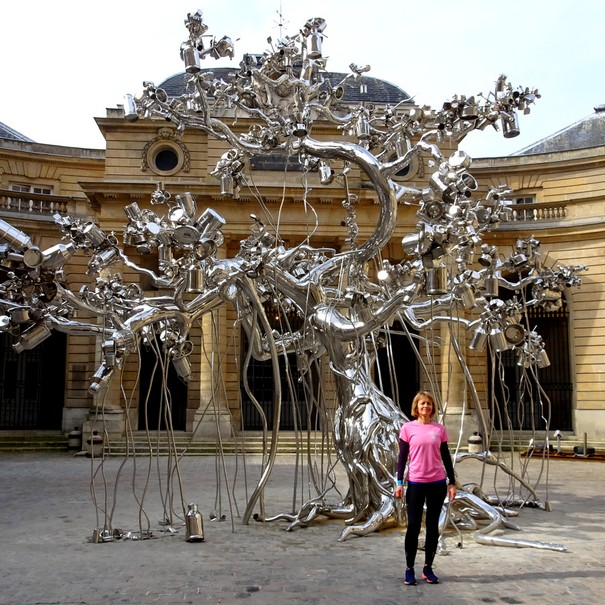 Art contemporain dans l'une des plus anciennes entreprises du monde. Avec Daniela.