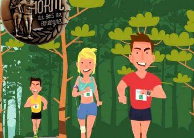 10 km du Bois de Boulogne 2018