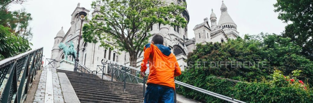 Un trail à Montmartre