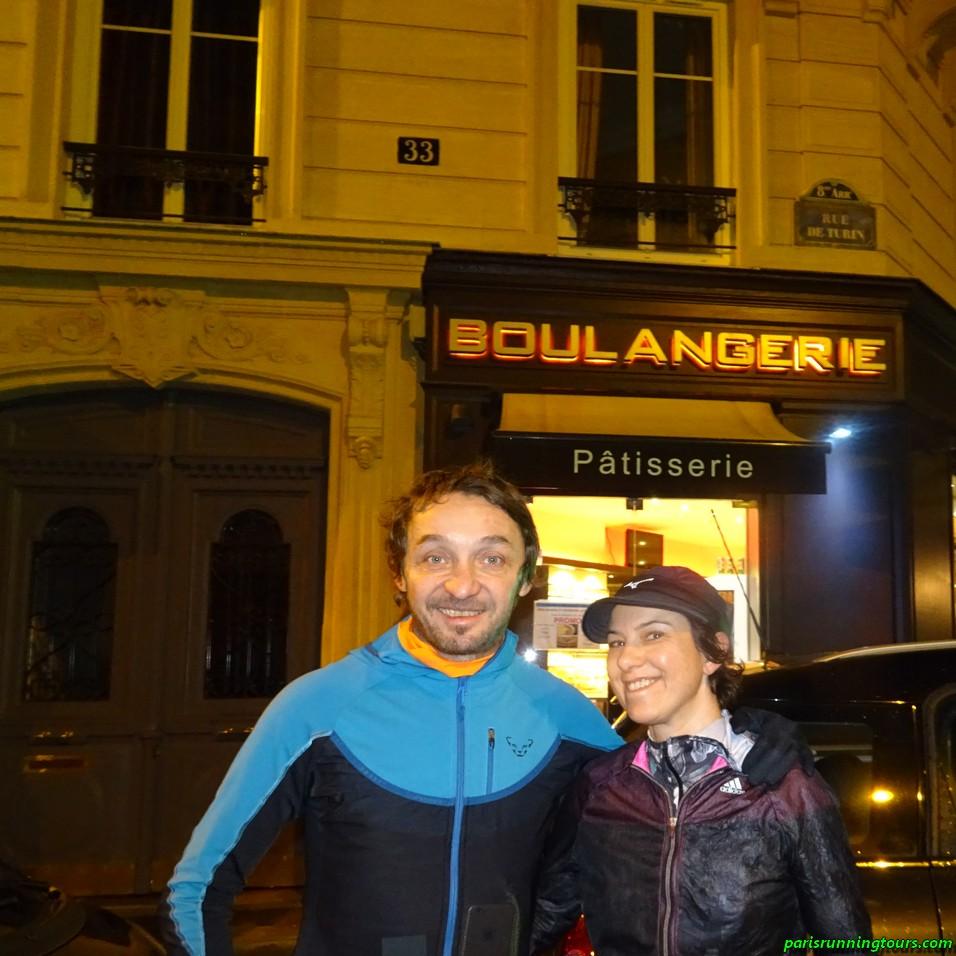 Daniele and Marina, 'rue de Turin'