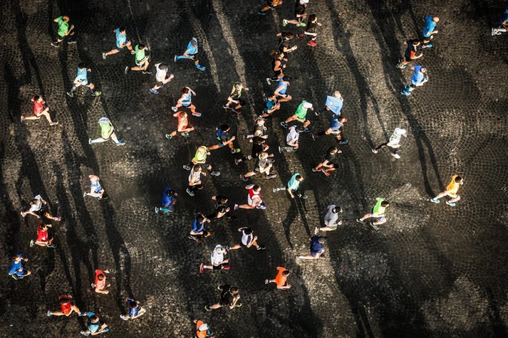 Few difficulties at the Paris marathon