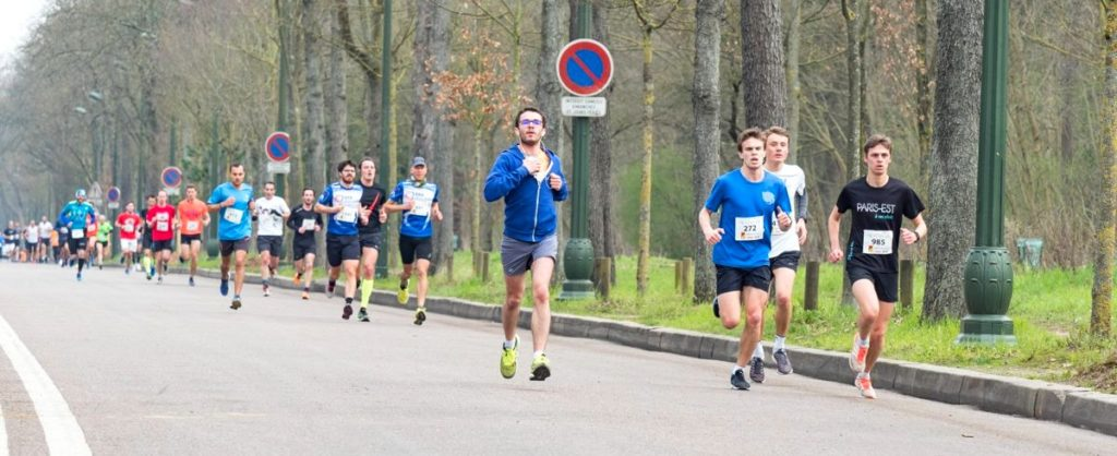 Soli'run 2018 - The beautiful alleys of the Bois de Boulogne in early spring