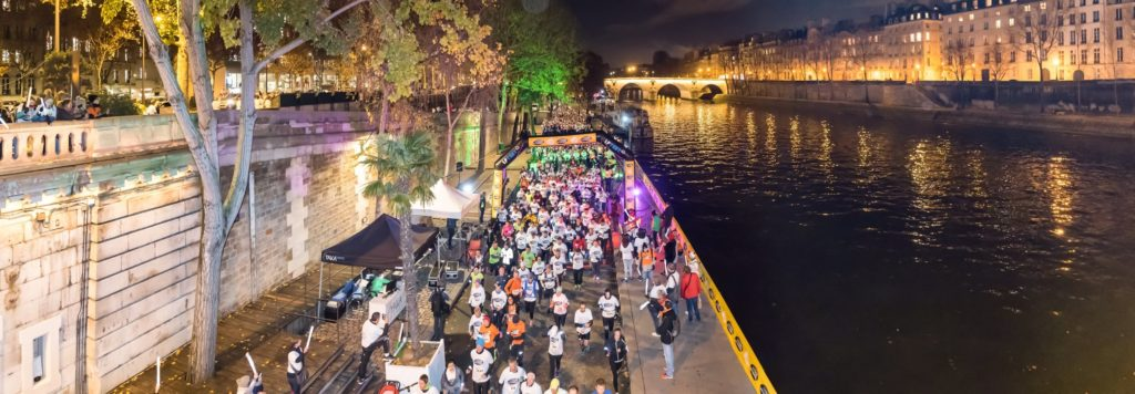 Course des Lumières 2018 - The illuminated banks of the Seine