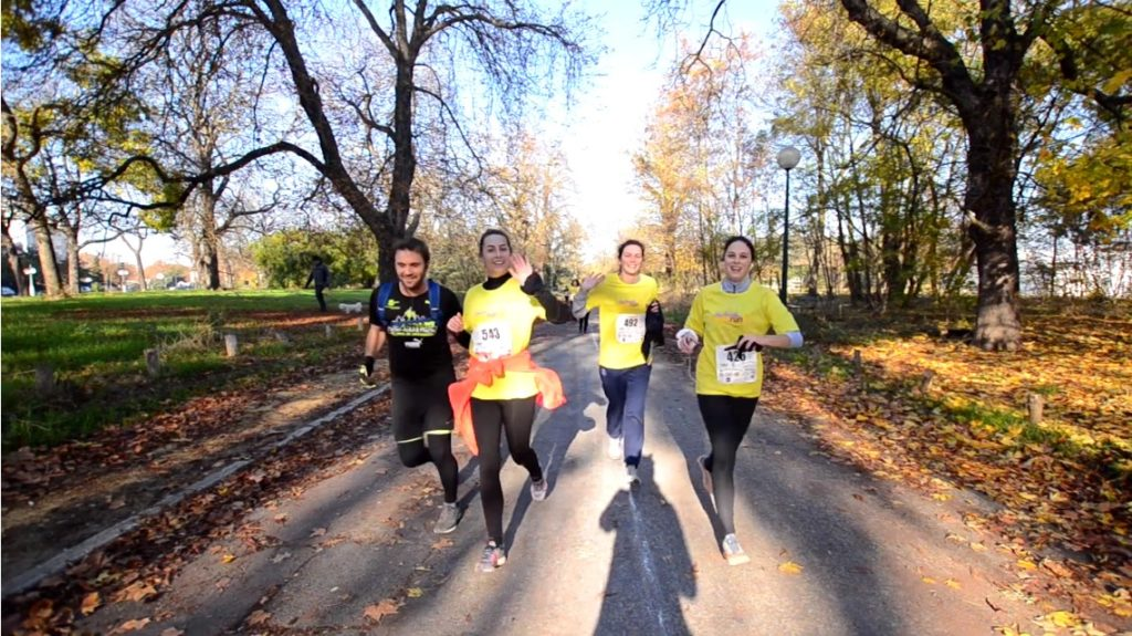 Endorun 2018 in the beautiful wood of Vincennes