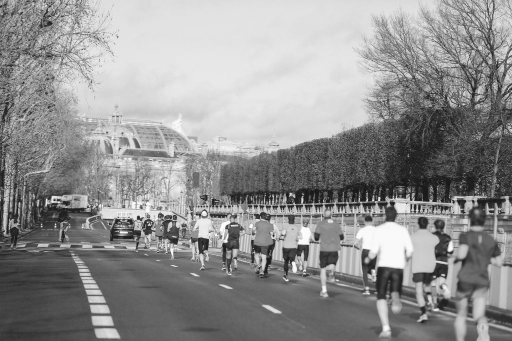 10 km des Etoiles 2019 - Along the Tuileries garden