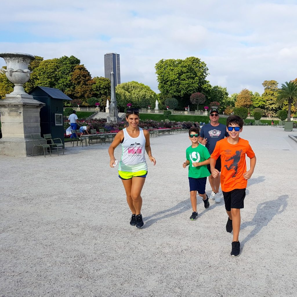 What a pleasure to run in one of the splendid parks of Paris