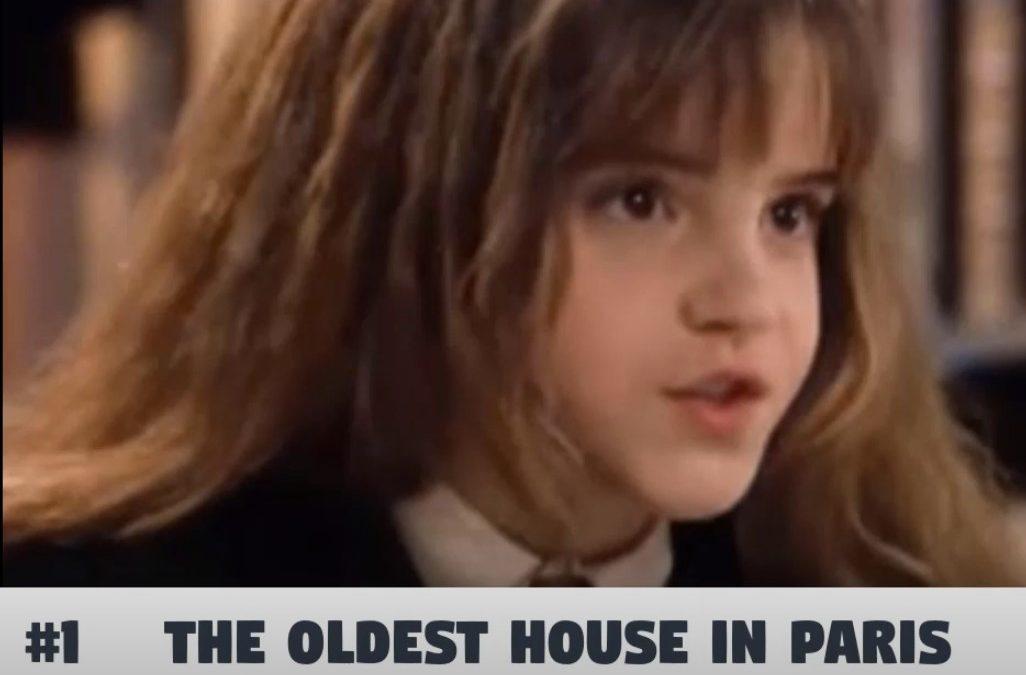 Un petit morceau de Paris en une minute – La plus vieille maison à Paris