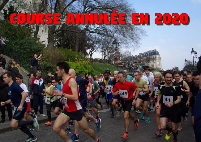 Les foulées du Tertre (Montmartre) 2020