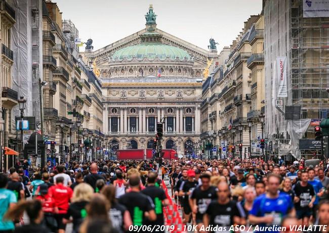 10 km Adidas Paris 2021