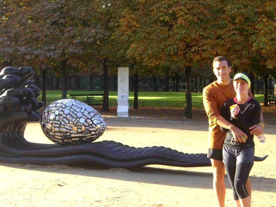 Modern art in Paris with Ginger and Ryan