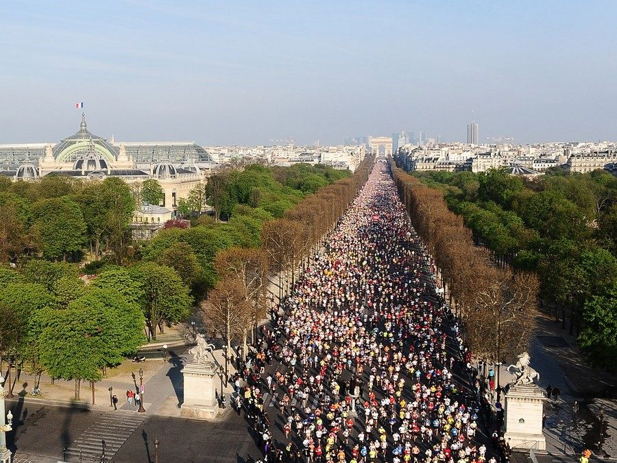Paris Competitions News: Paris Marathon!