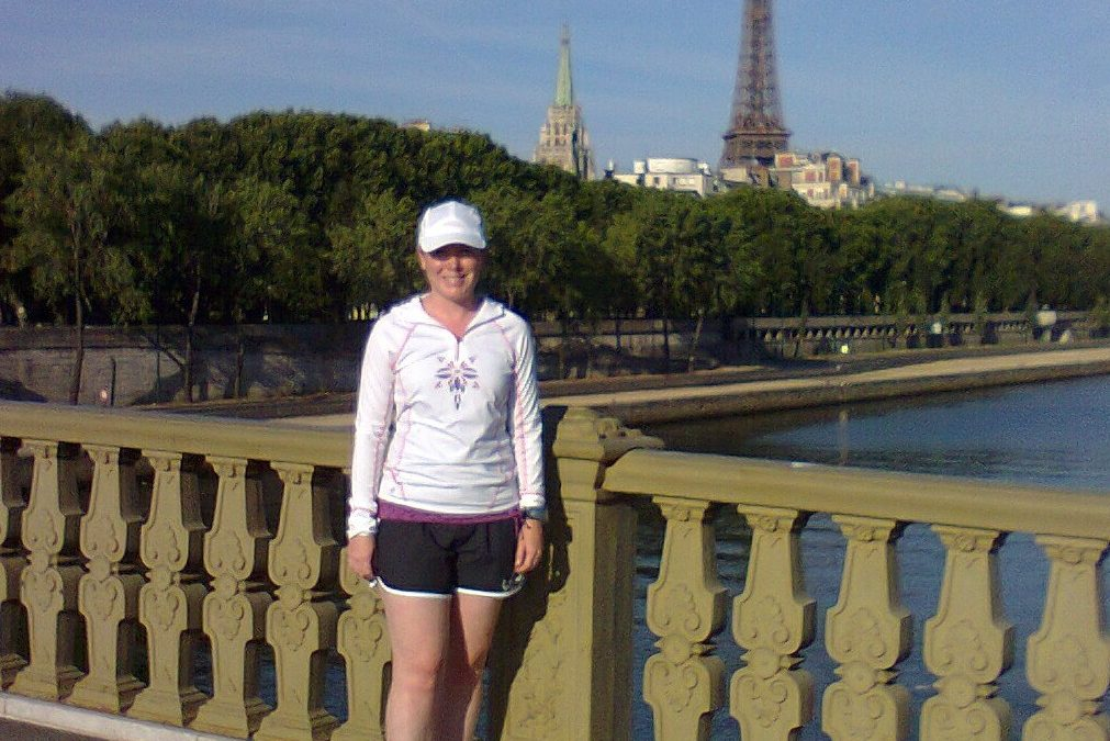 Morning workout and visit of Paris