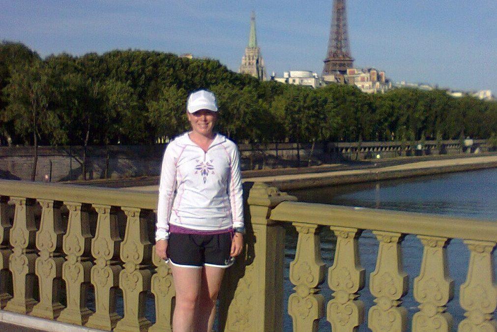 Morning workout and visit of Paris