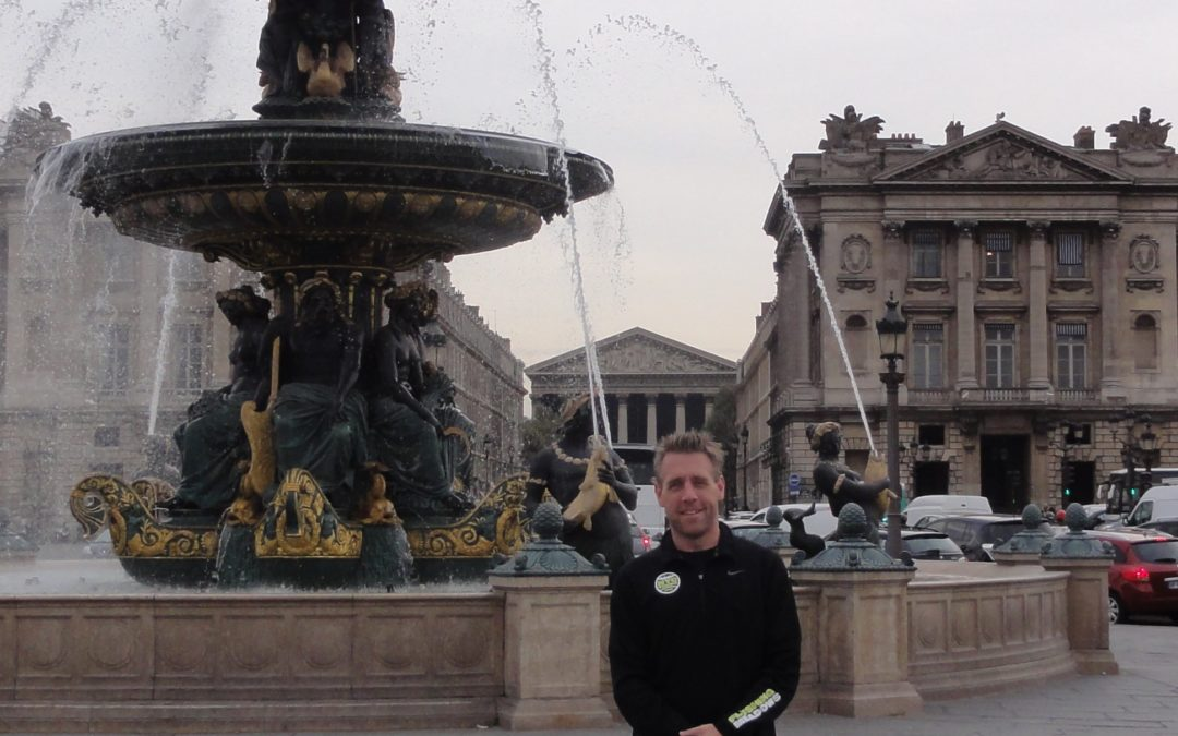 Two mornings in the discovery of Paris with Jason