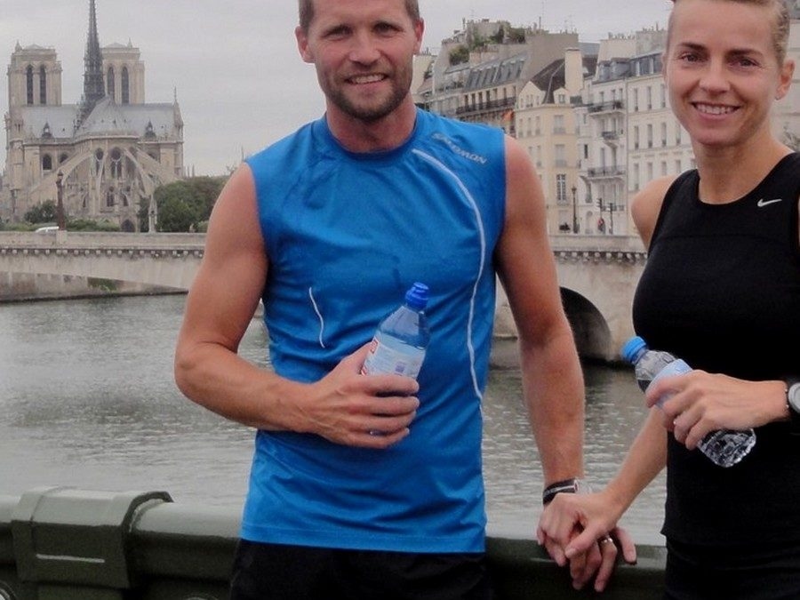 A touristic half-marathon with Eva and Christian