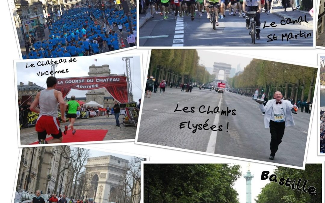 The Parisian running competitions in 2013