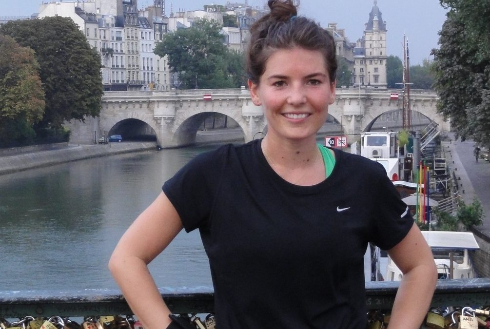14 miles visiting Paris while running to prepare the New-York marathon, with Jess
