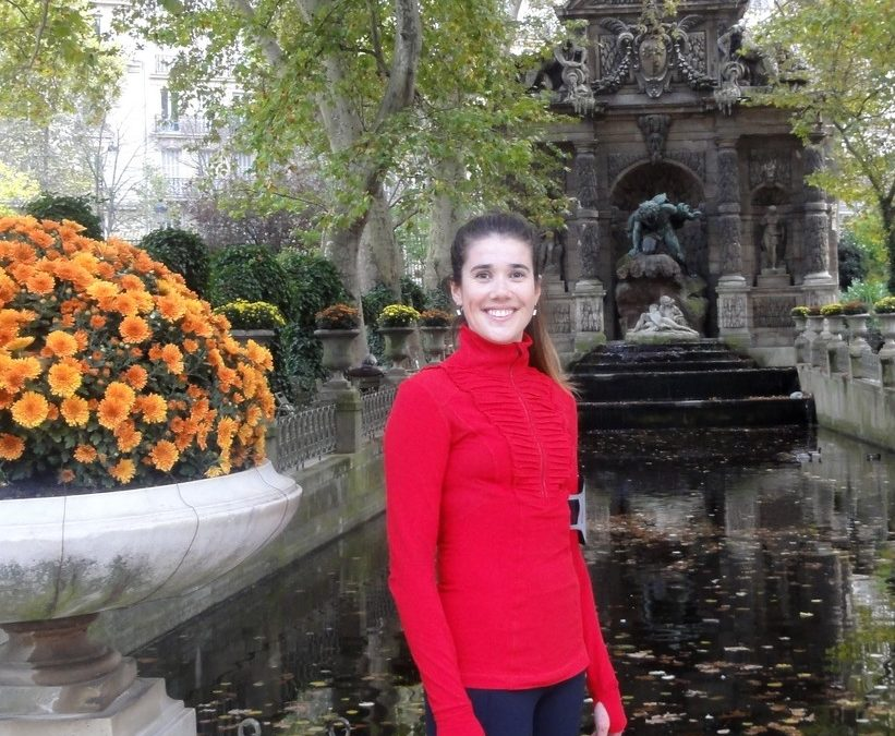 Two sports tours in Paris with Rosalie