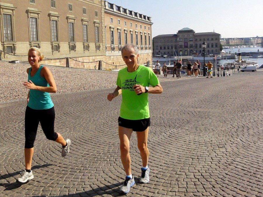 Paris went to run with Stockholm! With Hanna of Stockholm Running Tours