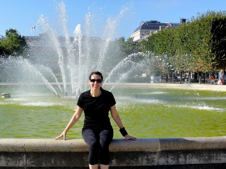 """Place des Victoires"" with Kristine"