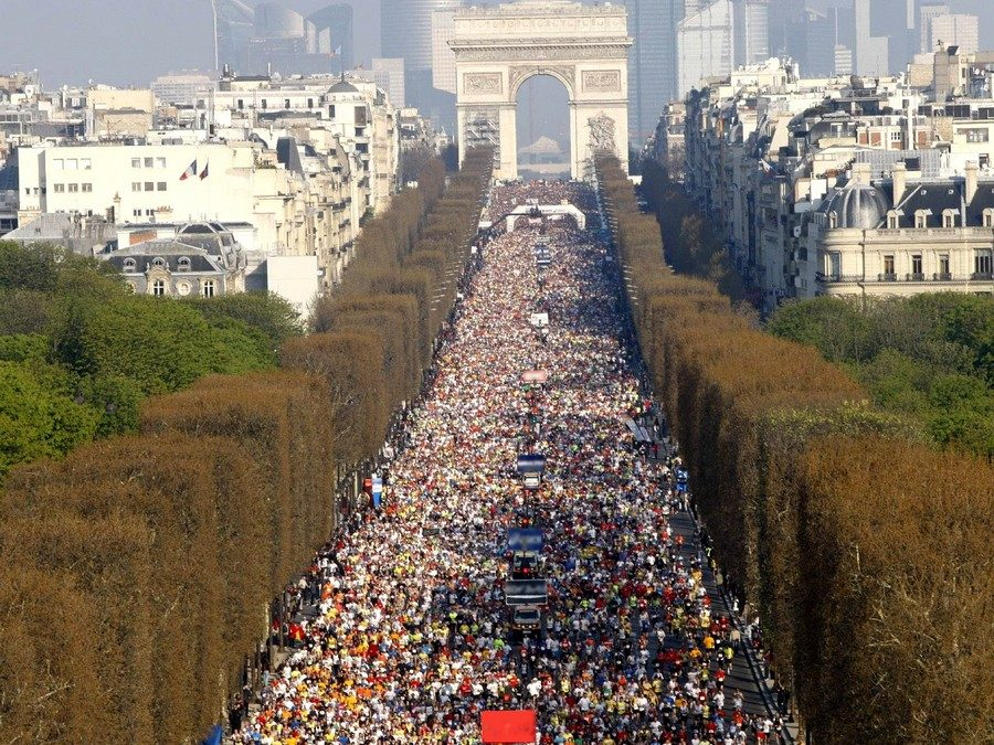 The Parisian running competitions in 2015