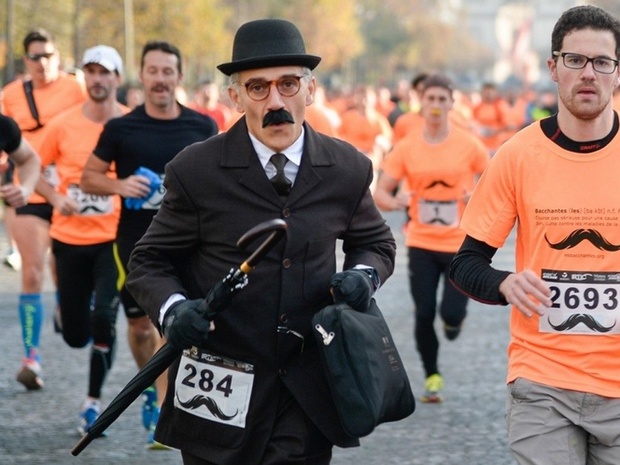 The Parisian running competitions in 2016