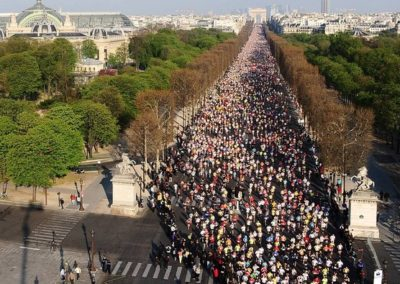 Running races in Paris – a new blog