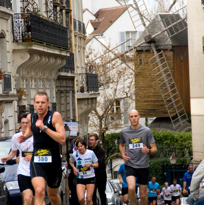 Strides of the Tertre in Montmartre 2018