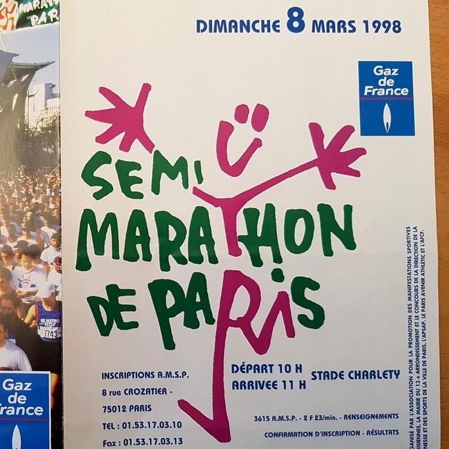 Paris Half Marathon 1998