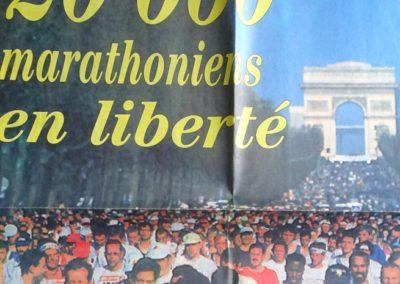 Paris marathon 1997