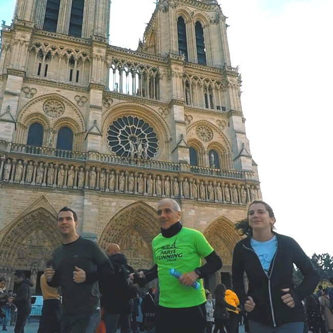 Follow this Paris Running Tour